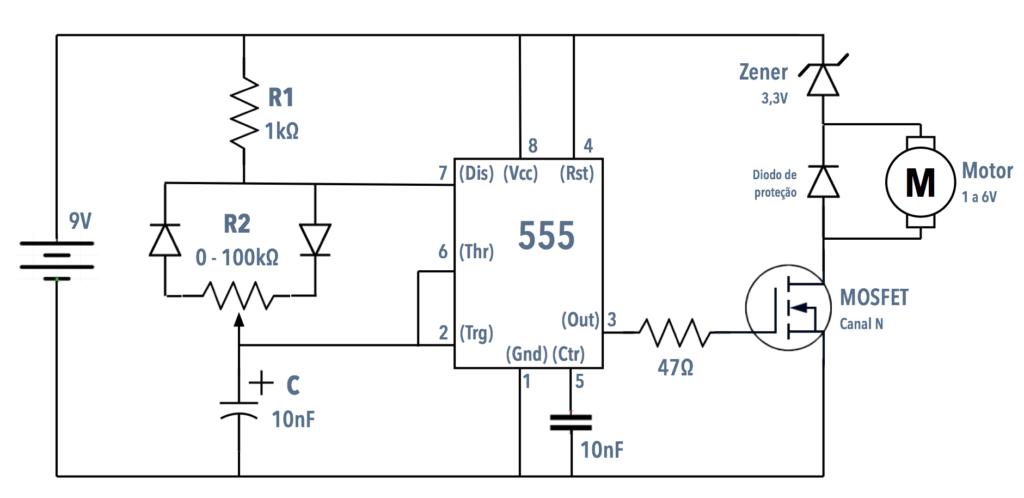 Circuito Integrado 555 : Circuito integrado areatecnologiacom