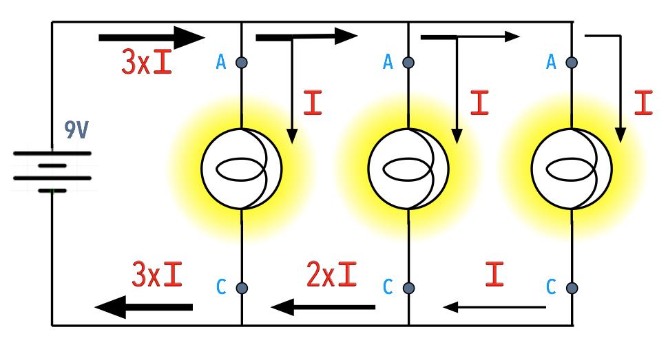 Schema Elettrico Webasto Air Top 3500 : Circuito paralelo lampada circuitos eléctricos teste com